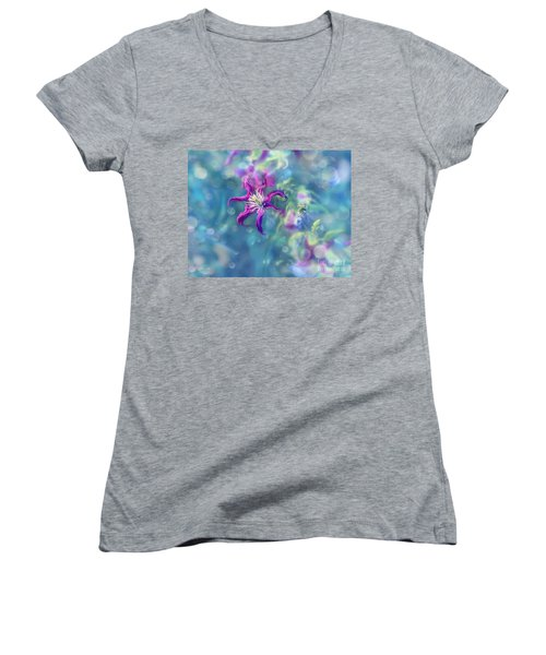 Dedicated To... Women's V-Neck T-Shirt