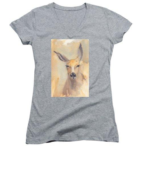 Deer Women's V-Neck T-Shirt