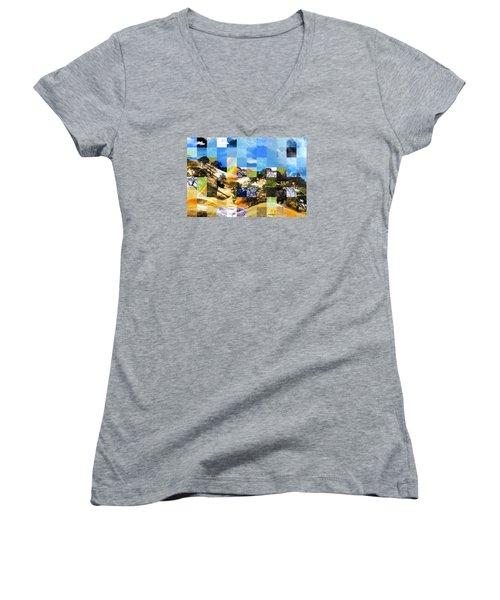 Dehydration Nation Women's V-Neck T-Shirt