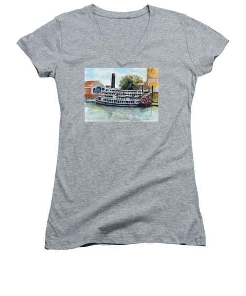 Delta King Women's V-Neck T-Shirt