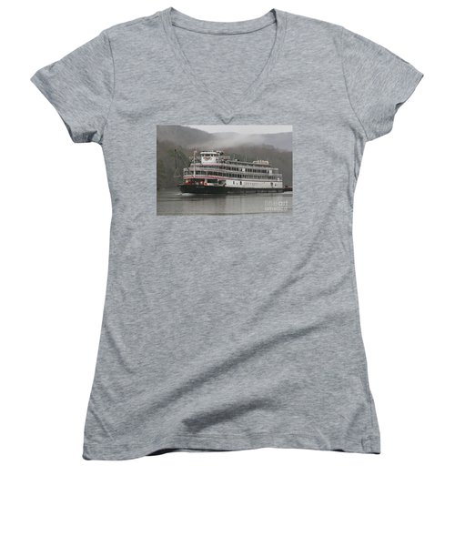Delta Queen Women's V-Neck T-Shirt