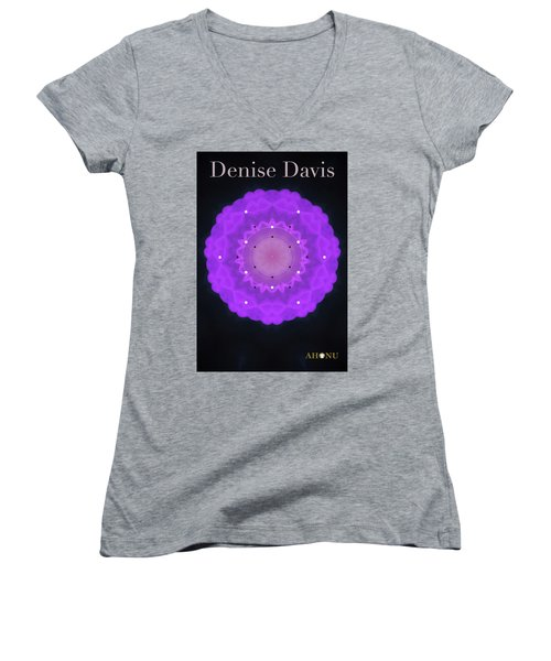 Denise Davis Women's V-Neck T-Shirt