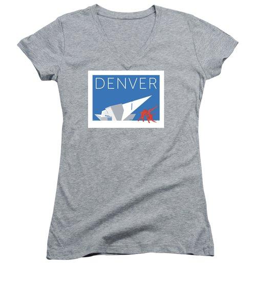 Denver Art Museum/blue Women's V-Neck