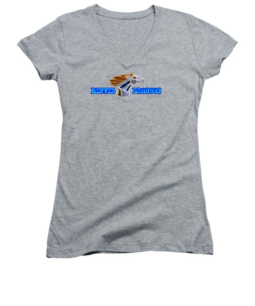 Denver Broncos Women's V-Neck