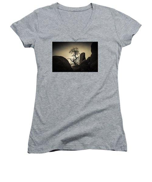 Desert Bonsai Women's V-Neck