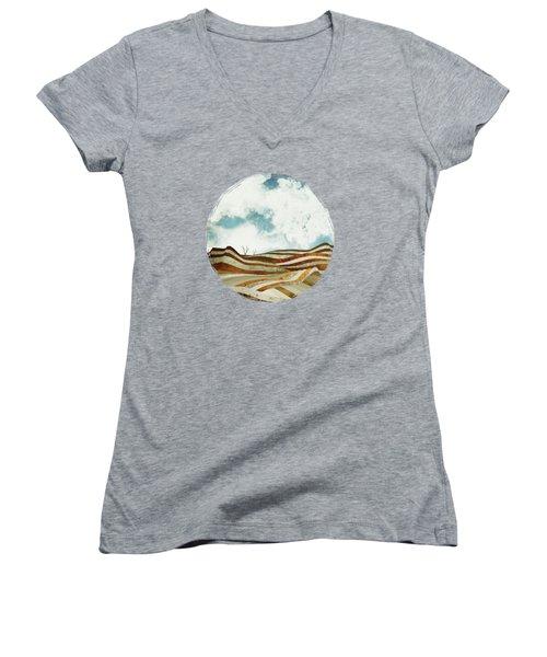 Desert Calm Women's V-Neck T-Shirt