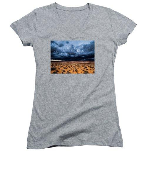 Desert Clouds Women's V-Neck