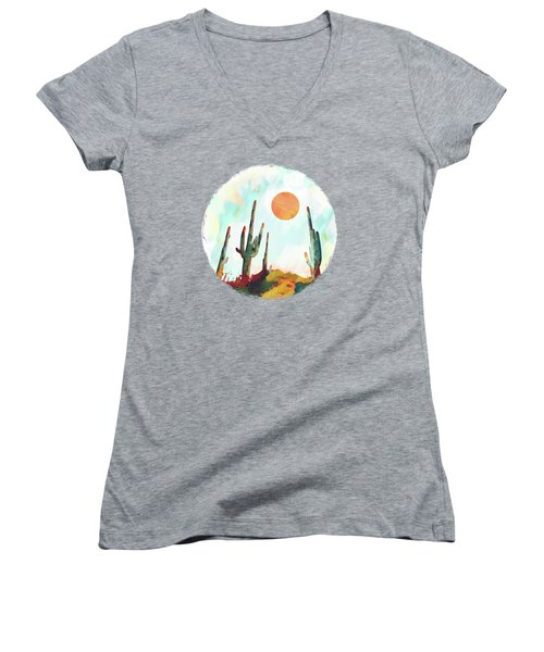 Desert Day Women's V-Neck (Athletic Fit)