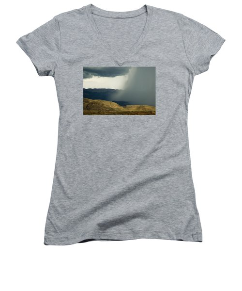 Desert Storm Women's V-Neck