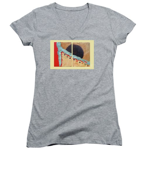Desert Sun I Women's V-Neck