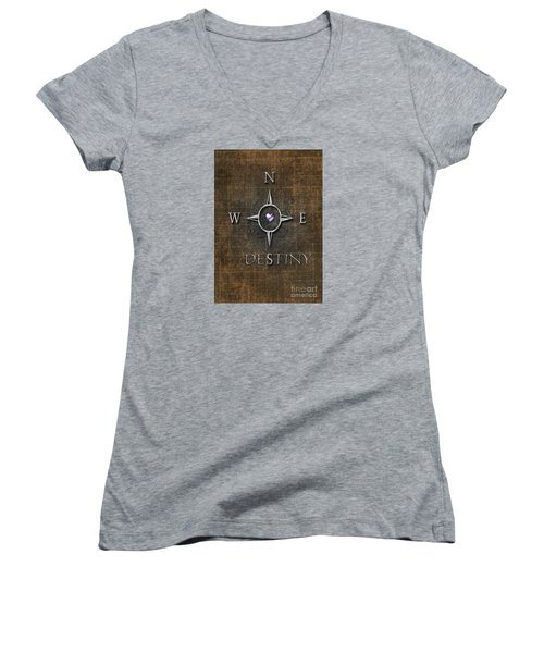 Destiny Women's V-Neck T-Shirt
