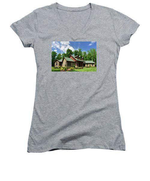 Devers Residence - King George, Va Women's V-Neck T-Shirt