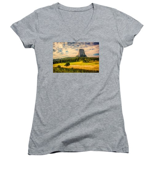Devil's Tower - The Other Side Women's V-Neck