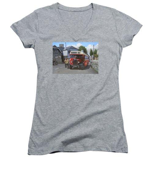 Devon General Aec Regal. Women's V-Neck T-Shirt