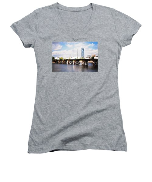 Devon Tower Women's V-Neck (Athletic Fit)