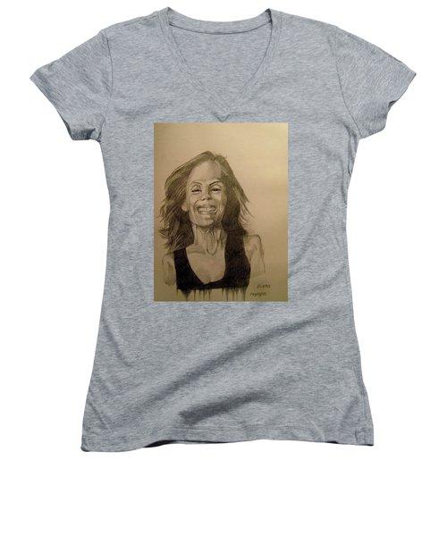 Diana Women's V-Neck T-Shirt