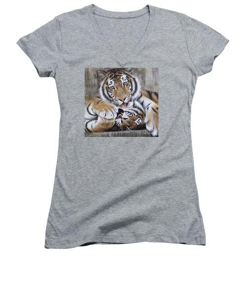 Diana's Duo Women's V-Neck T-Shirt