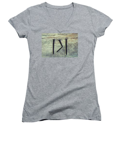 Different Or The Same Women's V-Neck
