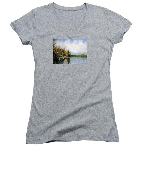 Dillman's Boathouse Women's V-Neck T-Shirt