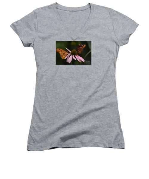 Dinner Date Women's V-Neck T-Shirt