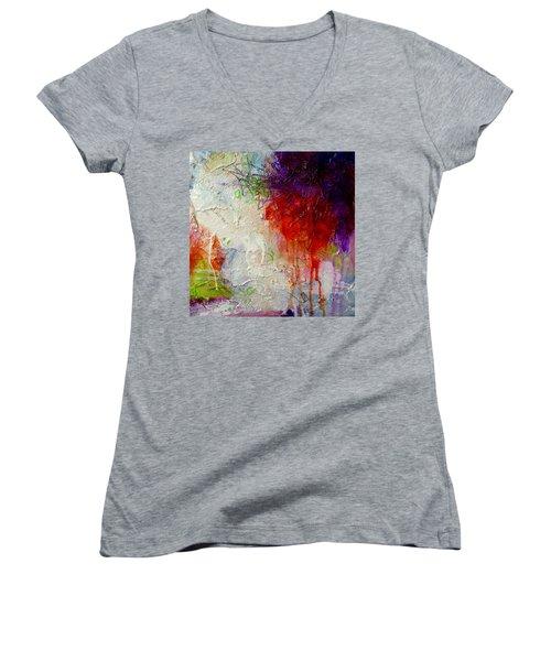 Dirty Dancing Women's V-Neck T-Shirt (Junior Cut) by Tracy Bonin
