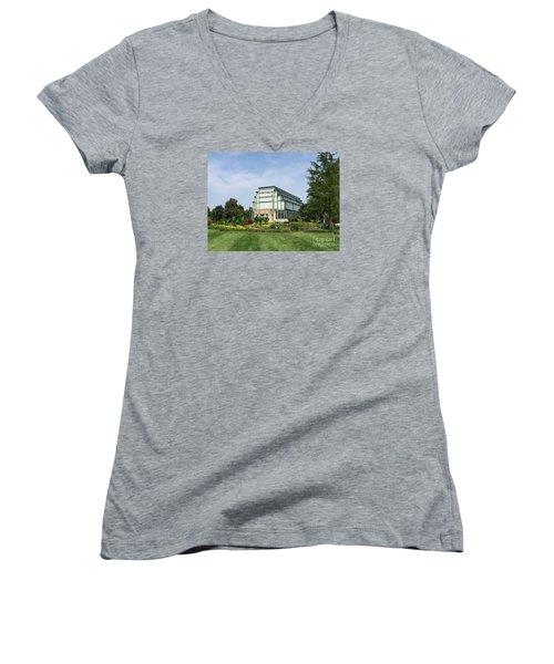 Distant Jewel Box Women's V-Neck T-Shirt