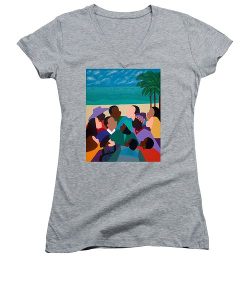 Diversity In Cannes Women's V-Neck T-Shirt