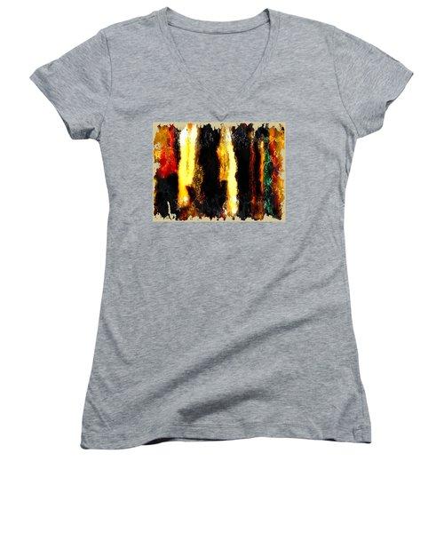 Diversity Women's V-Neck T-Shirt (Junior Cut) by The Art Of JudiLynn
