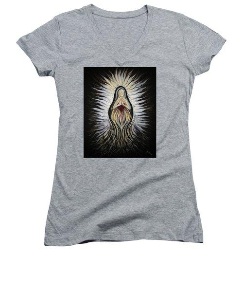 Divine Mother Milagro Women's V-Neck