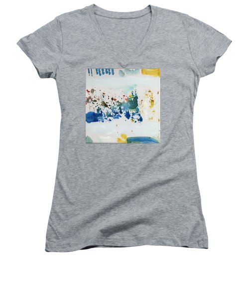 Dna Sample Women's V-Neck T-Shirt (Junior Cut)