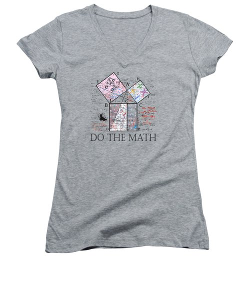 Do The Math Women's V-Neck (Athletic Fit)