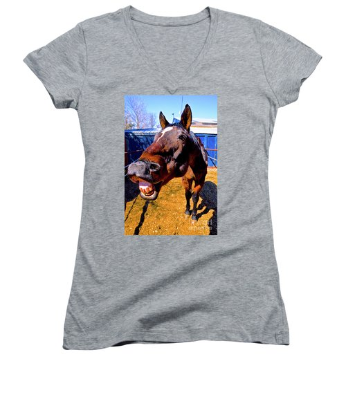 Do You Have A Treat For Me? Women's V-Neck