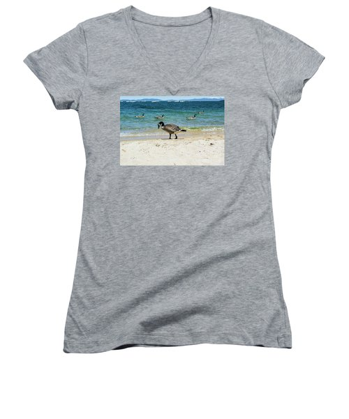 Do Your Own Thing Women's V-Neck
