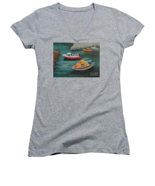 Docked Women's V-Neck T-Shirt