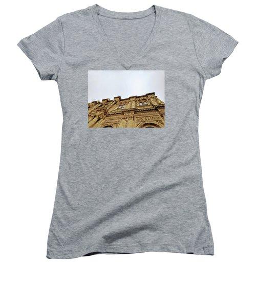 Dolmabahce Palace Women's V-Neck T-Shirt