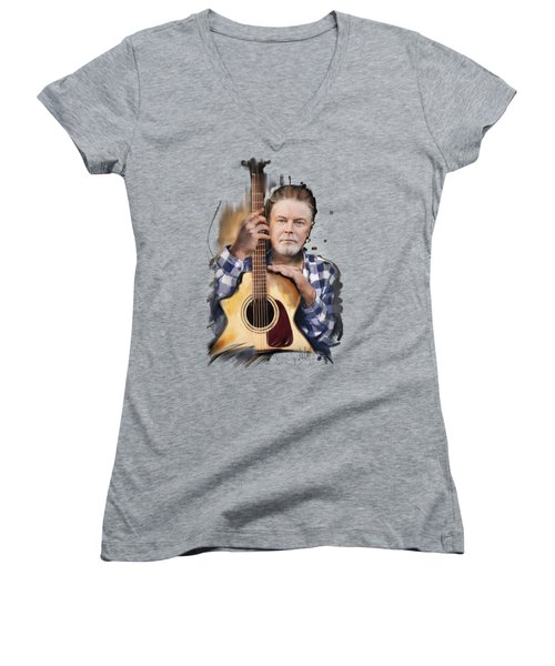 Don Henley Women's V-Neck