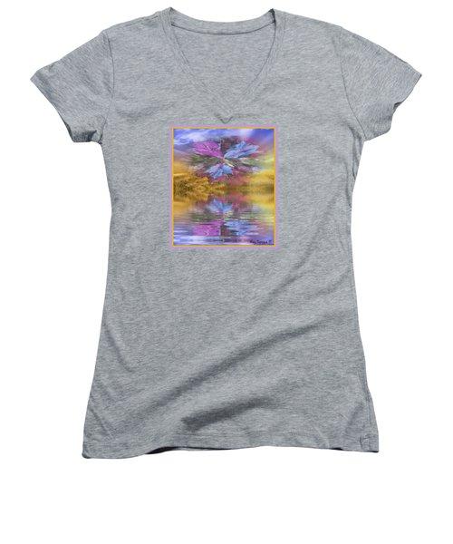 Dont Go Away Women's V-Neck T-Shirt