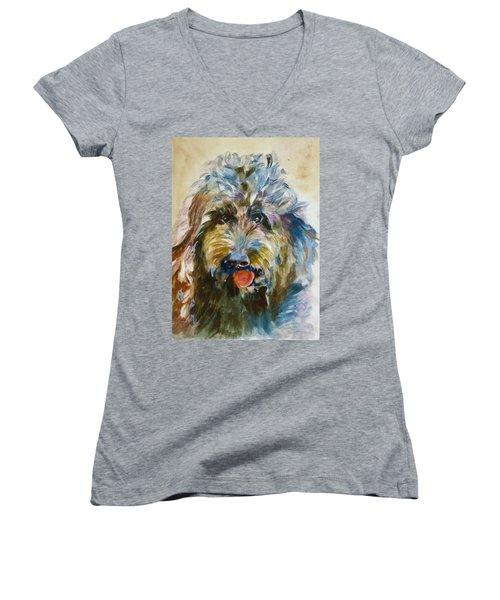 Doodle Women's V-Neck T-Shirt