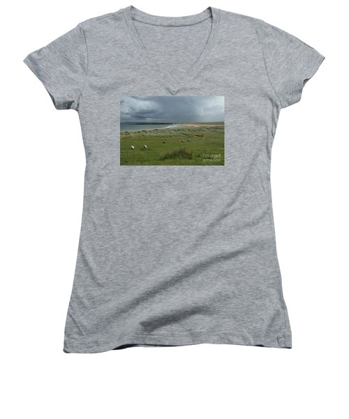 Doogh Beach Achill Women's V-Neck
