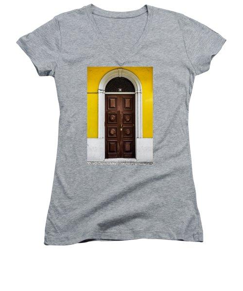 Door No 20 Women's V-Neck T-Shirt