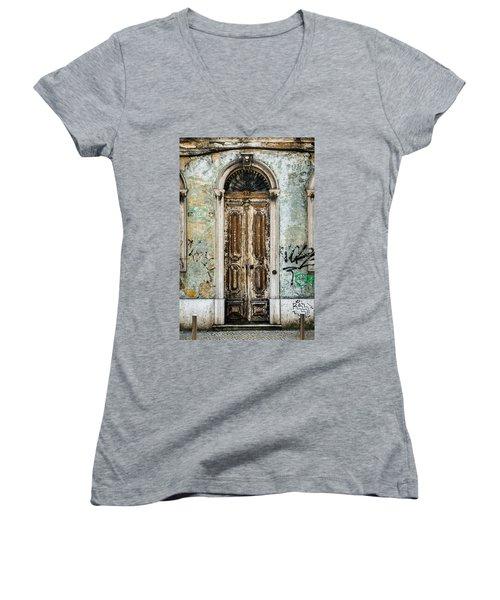 Door No 35 Women's V-Neck T-Shirt