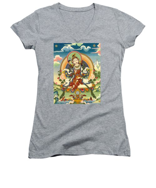 Dorje Yudronma Women's V-Neck (Athletic Fit)