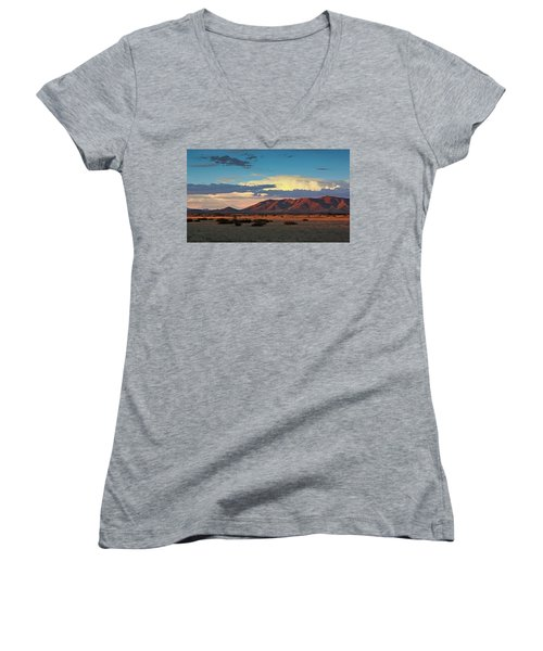 Dos Cabezos Sunset Serenity Women's V-Neck