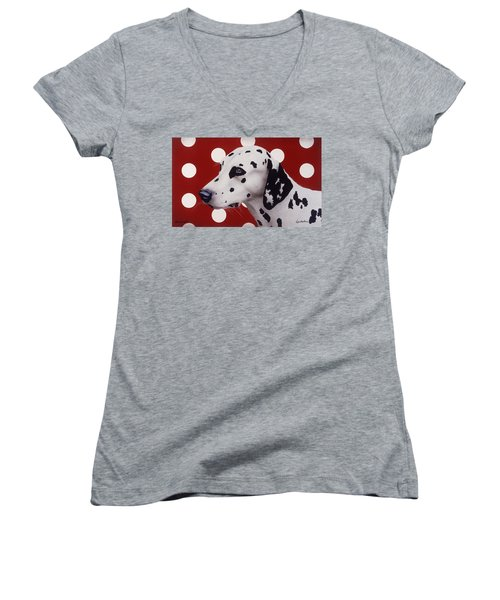 Dots And Spots... Women's V-Neck