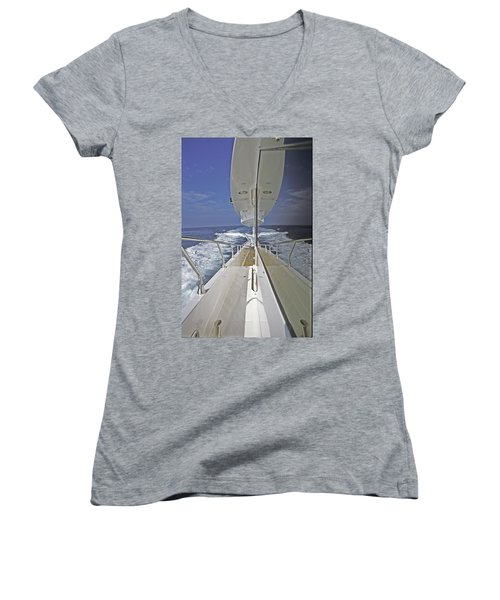 Double Image Women's V-Neck