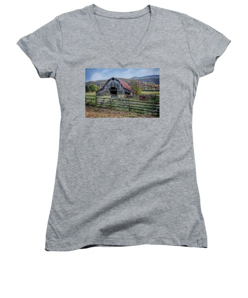 Down In The Valley Women's V-Neck