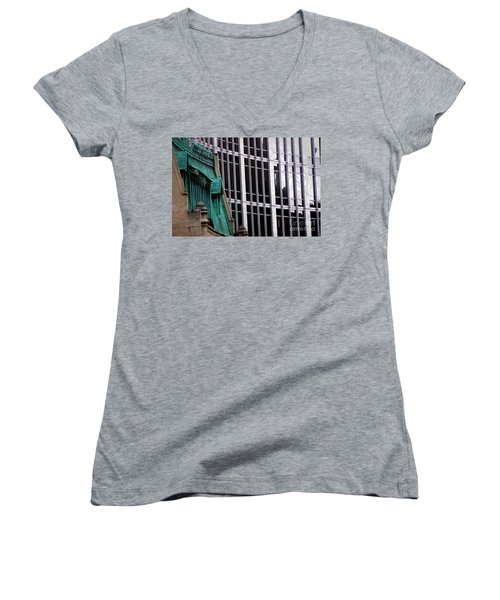 Downtown Indy Women's V-Neck
