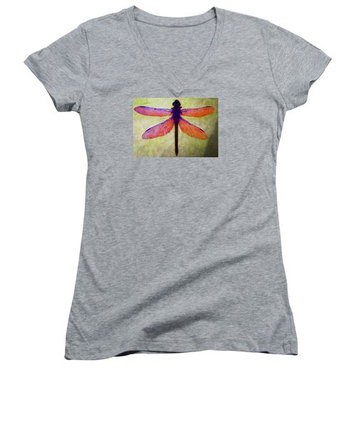 Dragonfly 7 Women's V-Neck