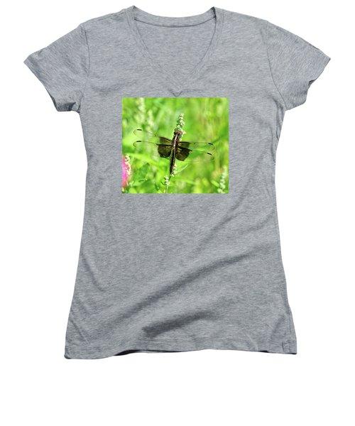 Dragonfly Beauty Women's V-Neck T-Shirt