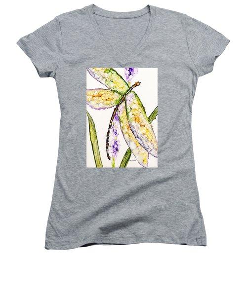 Dragonfly Dreams Women's V-Neck